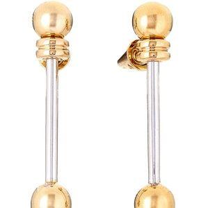 Eddie Borgo hanging earrings